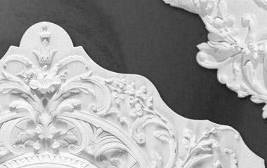 Cornici decorazioni rosoni bassorilievi statue colonne in for Rosoni in polistirolo