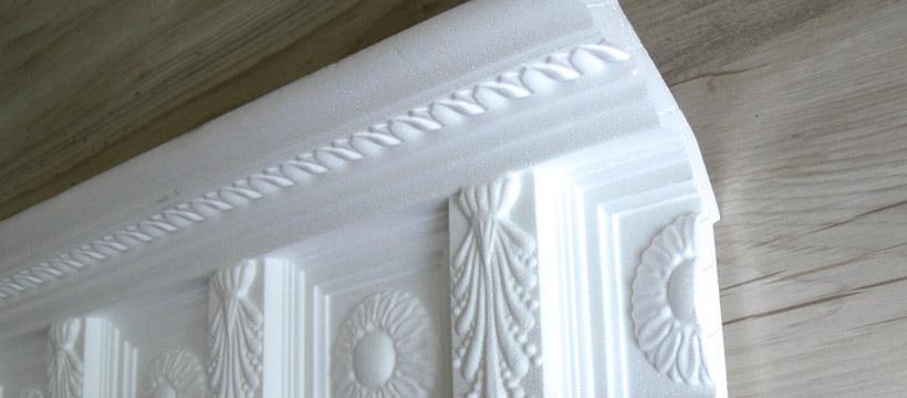Cornici decorazioni rosoni bassorilievi statue colonne in for Cornici in polistirolo leroy merlin